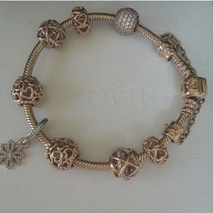 Pandora Gold Bracelet👑